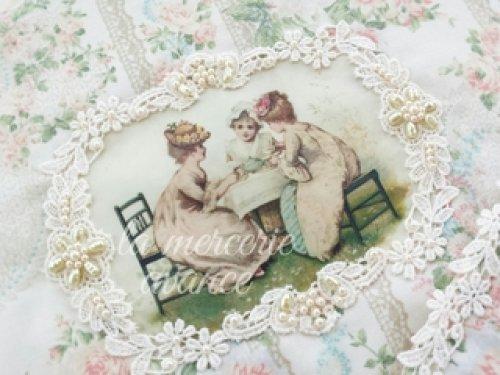他の写真1: 少女達のお茶会ティーコゼ・ポットマットのキット