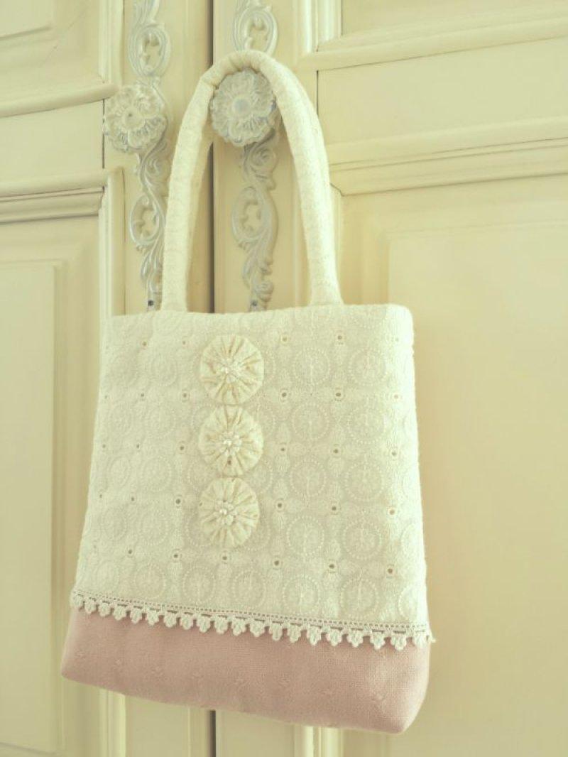 画像1: ヨーヨーキルトのバッグのキット