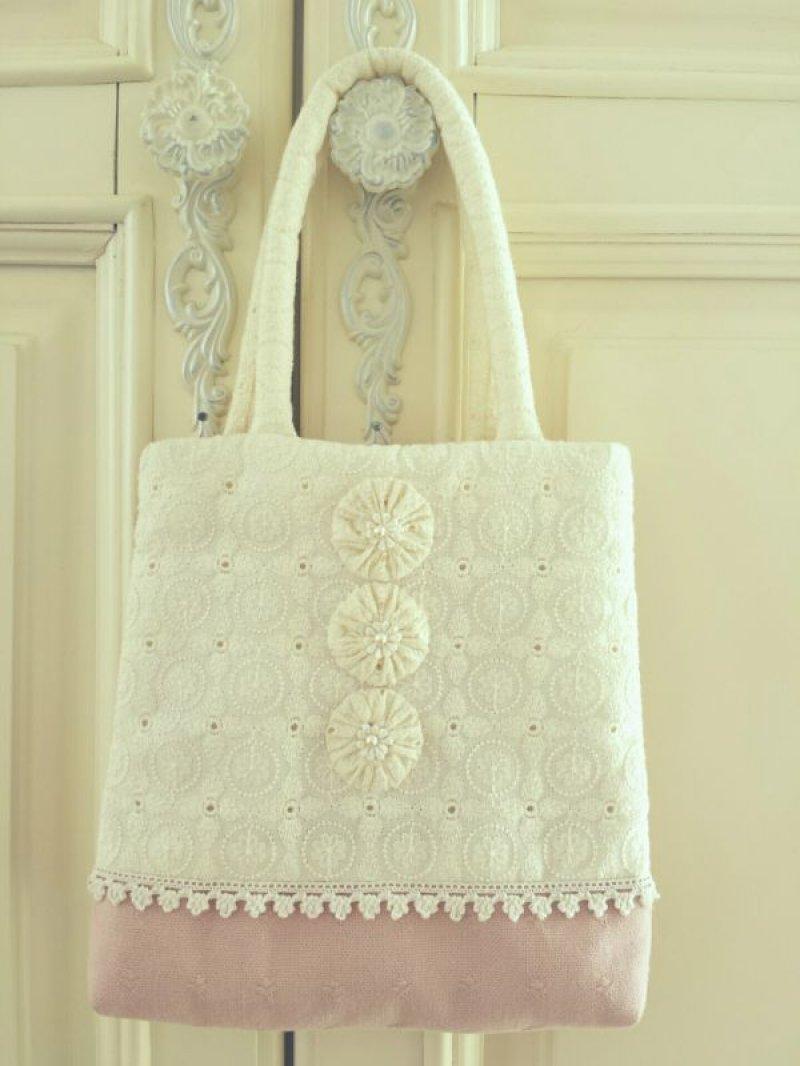 画像2: ヨーヨーキルトのバッグのキット