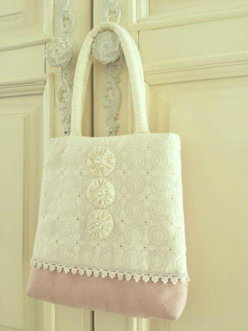 他の写真3: ヨーヨーキルトのバッグのキット
