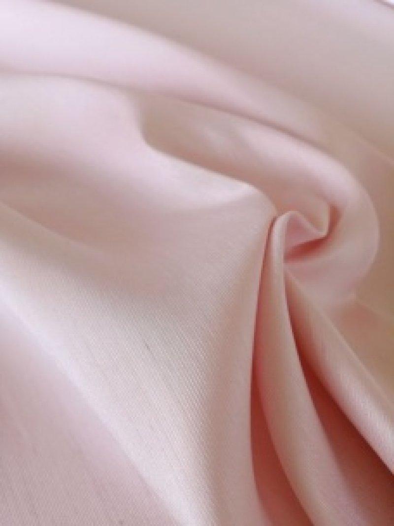 画像4: シャンタン生地レースのポーチのキット(ピンク)