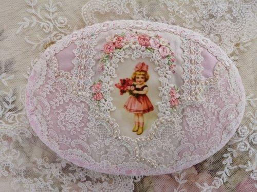 他の写真2: リボンの少女の楕円のポーチ完成品 B  (akiko)