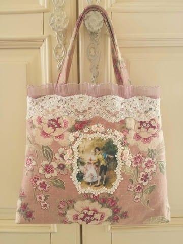画像2: ヴィクトリアンなバッグのキット